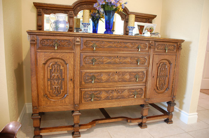 Oak sideboard missouri river chronicle for Sideboard 2 m lang