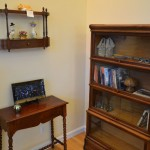 Barrister bookcase, displays