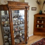 China hutch, primitive corner stand