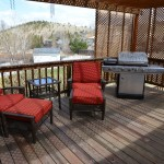 Outdoor furniture, grill