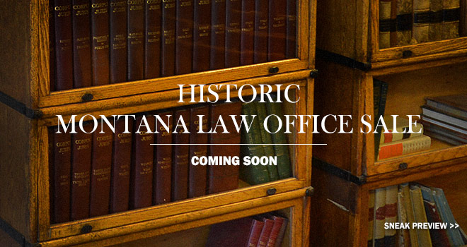 Historic Montana Law Office Sale